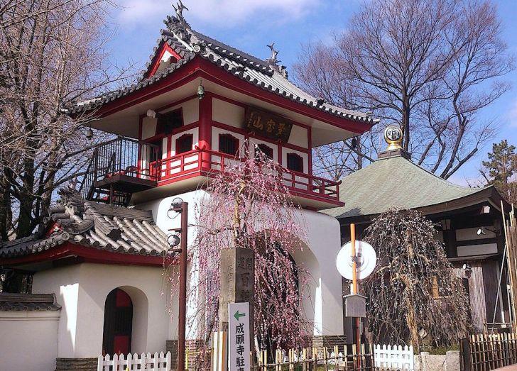 中野長者遺跡の成願寺