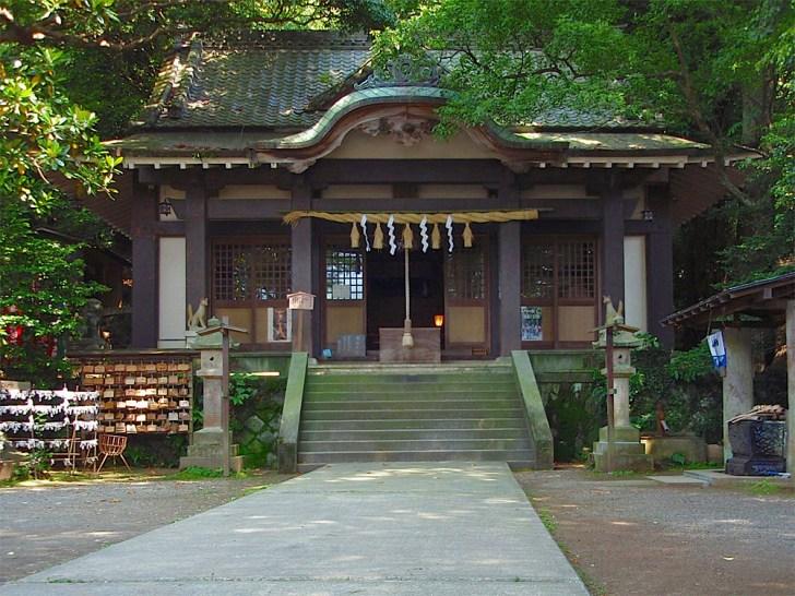 伊東氏のルーツ、葛見神社