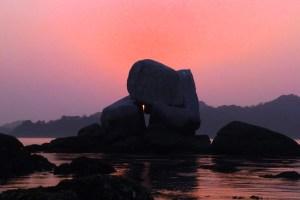 白石の鼻巨石群
