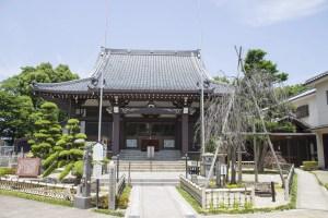 常泉寺(豊臣秀吉生誕の地)