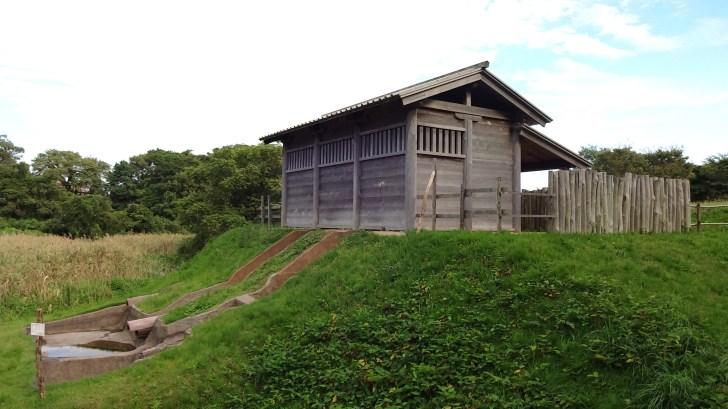 秋田城跡(高清水公園)