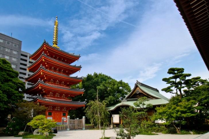 東長寺(福岡大仏)