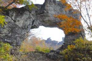 妙義山第四石門(石門めぐり)