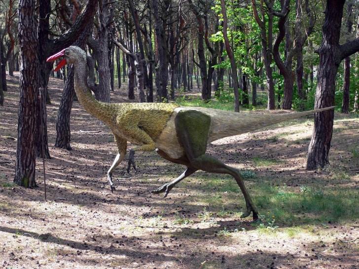 恐竜の足跡(瀬林の漣痕)