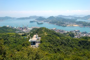 因島公園(天狗山展望台)
