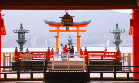 厳島神社・高舞台