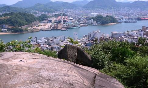 千光寺公園・鼓岩