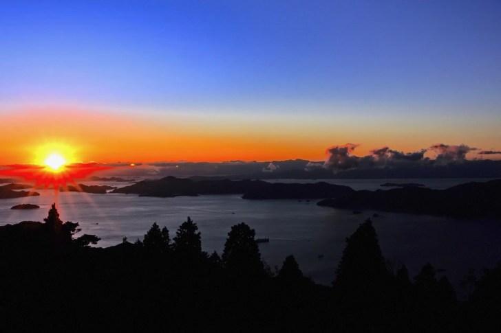 星降る展望台(野呂山)