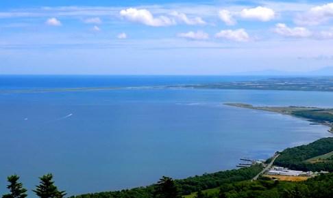 幌岩山展望台(サロマ湖展望台)