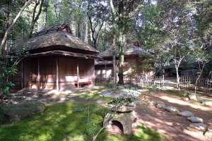 立田自然公園・仰松軒