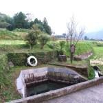 吉田城御献上汲場水源