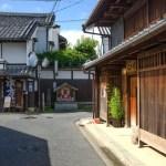 奈良町の町並み
