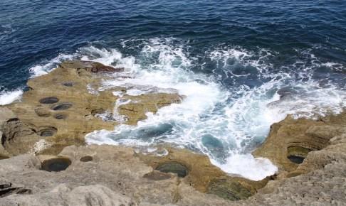 平根崎波蝕甌穴群