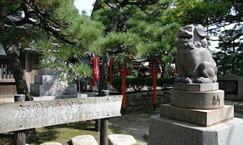 湊稲荷神社(願懸の高麗犬)