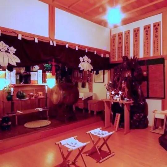 そば処ひさやま(戸隠神社旧本坊勧修院 久山館)