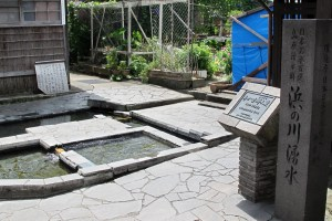 島原湧水群・浜の川湧水(浜ン川洗い場)