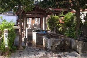 島原湧水群・水頭の井戸