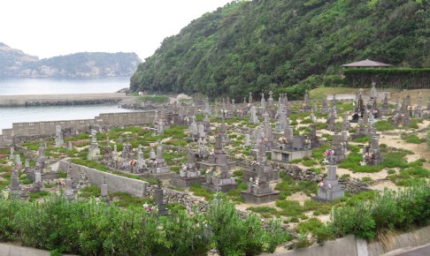頭ヶ島キリシタン墓地