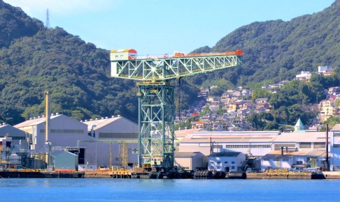 三菱長崎造船所ジャイアント・カンチレバークレーン
