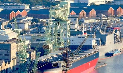 佐世保重工業250トン起重機