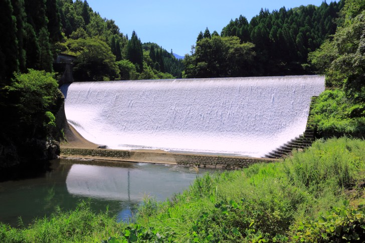 白水ダム(白水溜池堰堤)