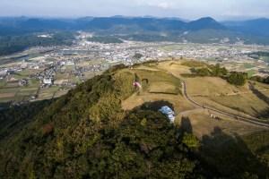 伐株山(玖珠城跡)