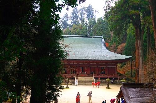比叡山延暦寺・釈迦堂(転法輪堂)