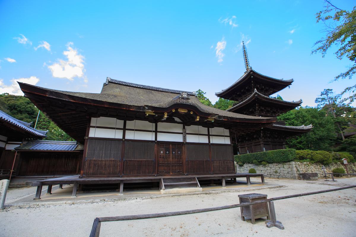 三井寺唐院・潅頂堂