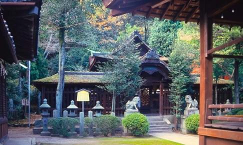 関蝉丸神社・下社