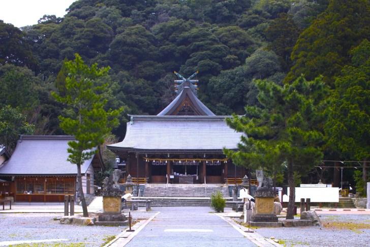 石見国一宮 物部神社