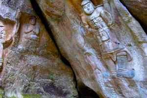 鵜殿の石仏群