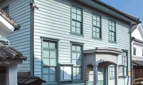 肥前浜宿・浜郵便局跡(八宿公民館)