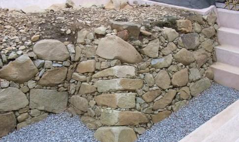 名護屋城・本丸旧石垣