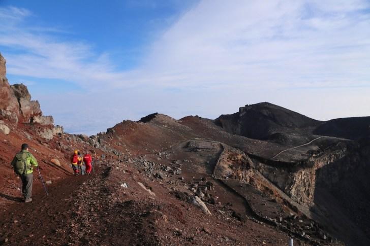 富士山 剣ヶ峰