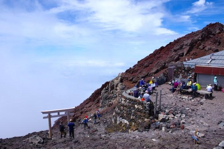 富士山 富士宮口山頂