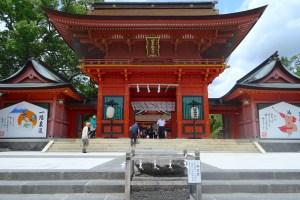 富士山本宮浅間大社 楼門