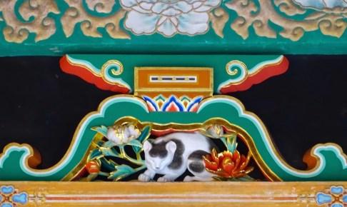 日光東照宮・眠り猫