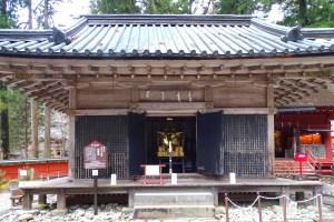 日光二荒山神社・神輿舎