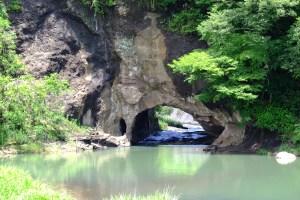 木須川洞門
