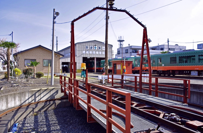 真岡駅(転車台)