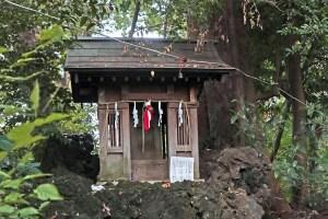 杵築大社の富士山(境富士)