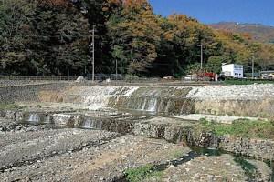 デ・レイケの堰堤(大谷川砂防堰堤)