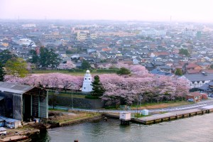 境台場公園(鳥取藩境台場跡)