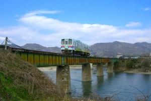 若桜鉄道・第一八東川橋梁