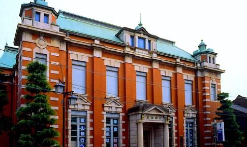 旧富山銀行本店(旧高岡共立銀行本店)