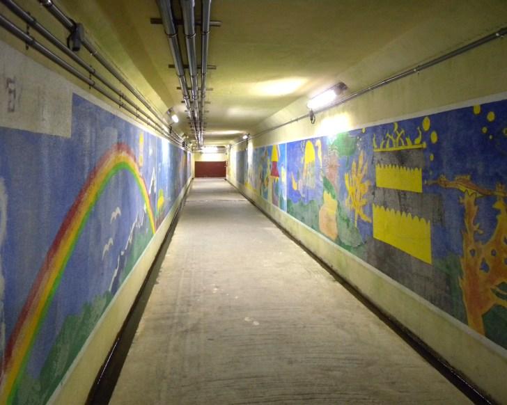 海底地下道(黒部漁港)