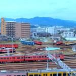下関総合車両所新山口支所転車台