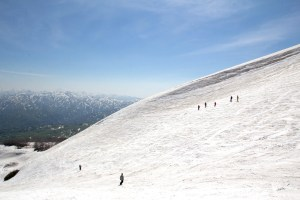 月山スキー場(夏山ペアリフト)