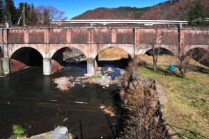 駒橋発電所落合水路橋