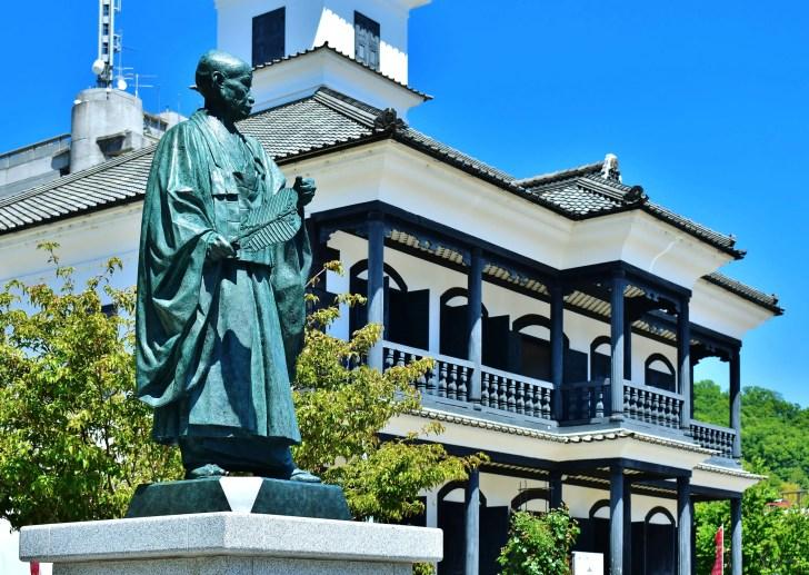 藤村記念館(旧睦沢学校校舎)